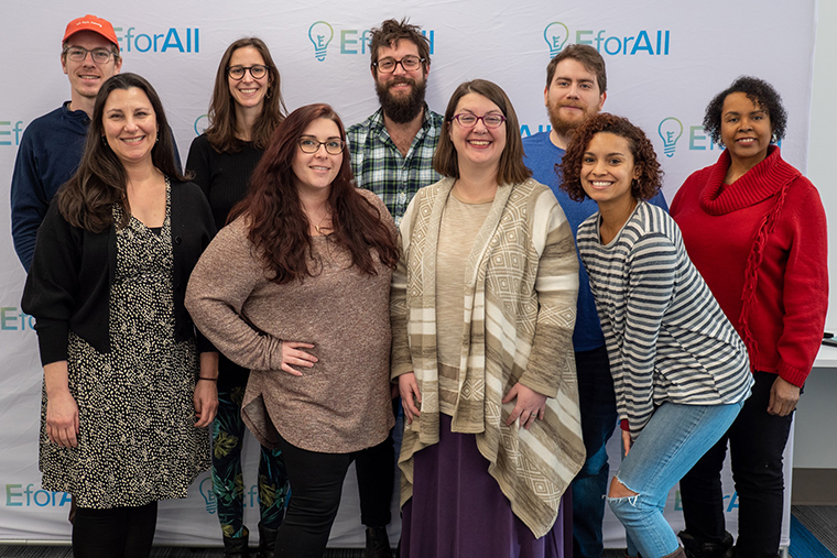 EforAll Celebrates Inaugural Class of Local Entrepreneurs