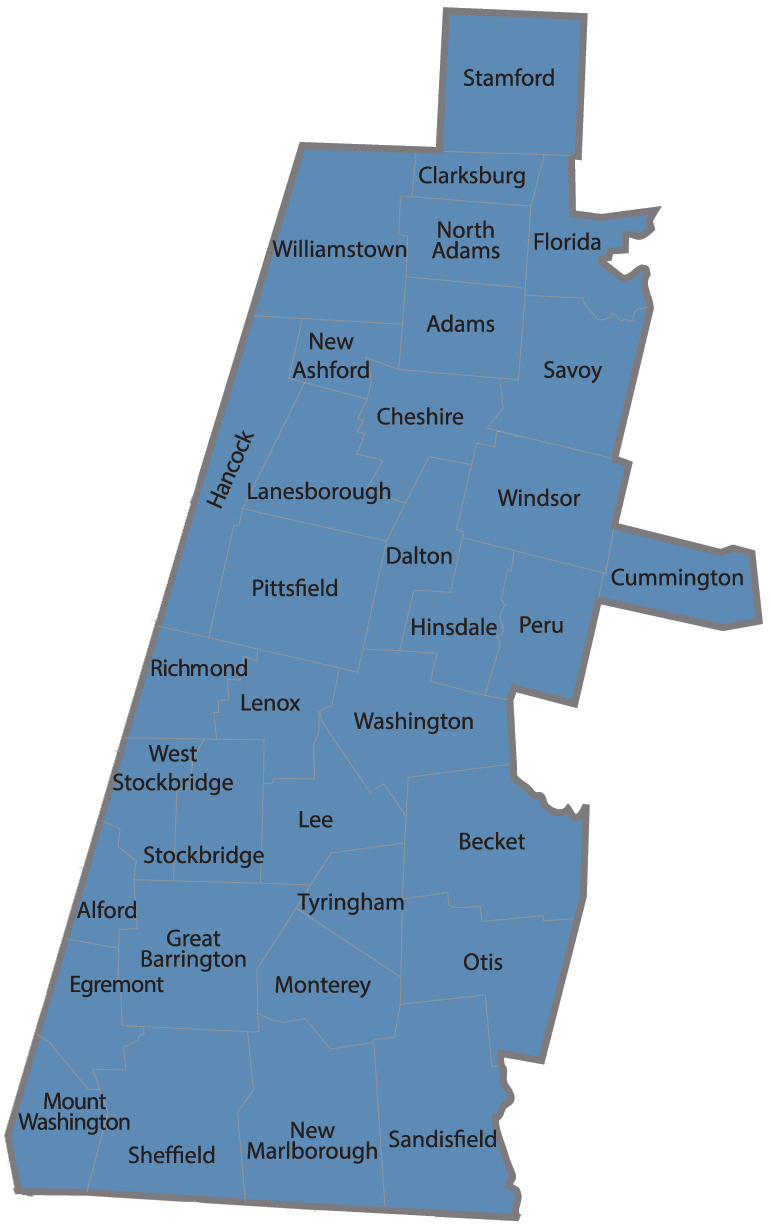 Berkshire county impact local impact map learn about for The berkshire