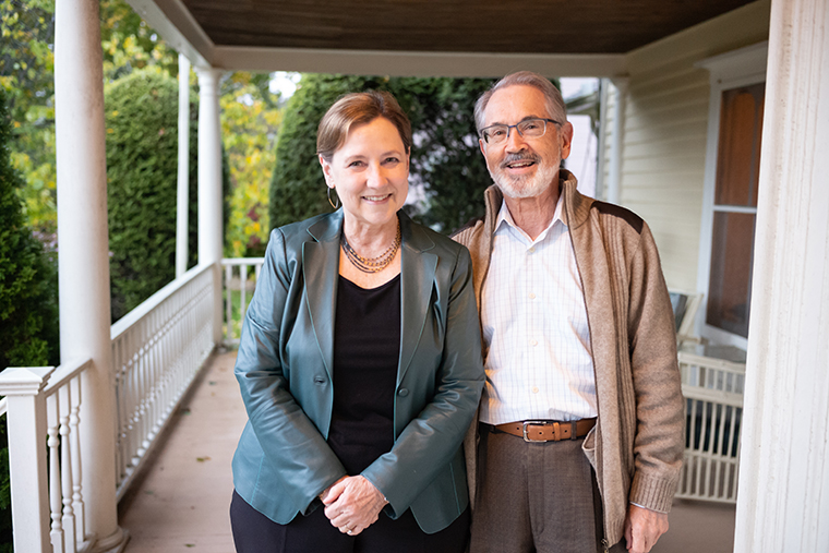 Portraits of Generosity: Ed and Meg Downey