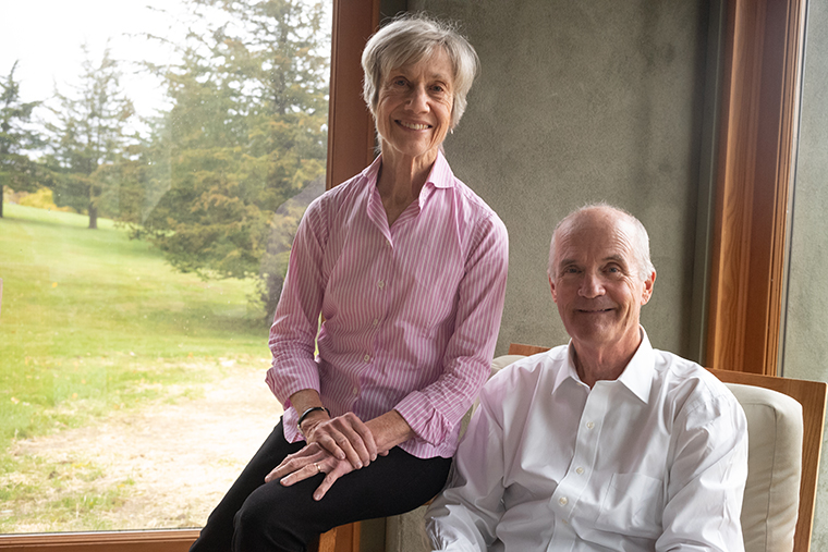 Portraits of Generosity: Lyn and Skip Mattoon