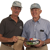 Frank Clark & Wesley Peterson Meals on Wheels Volunteers